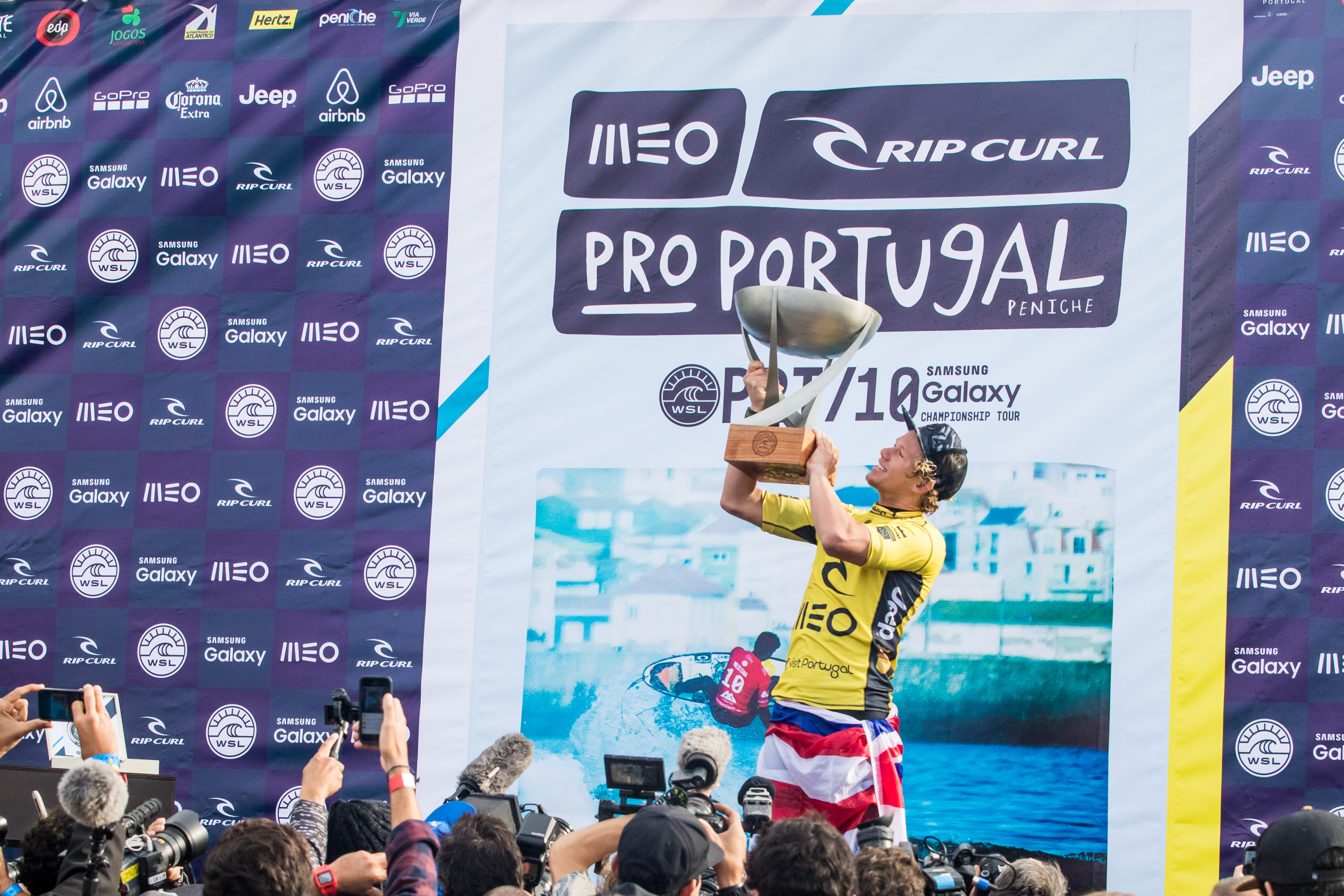 Finals Day John John Florence wins his first world title!